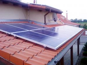 fve na streche rodinného domu