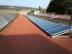 fotovoltická - fotovoltaická elektráreň