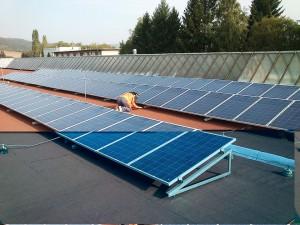 kontrola fotovoltaickej elektrárne